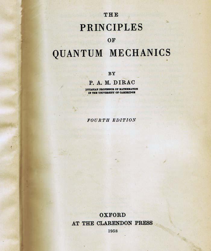 Dirac as a Poet