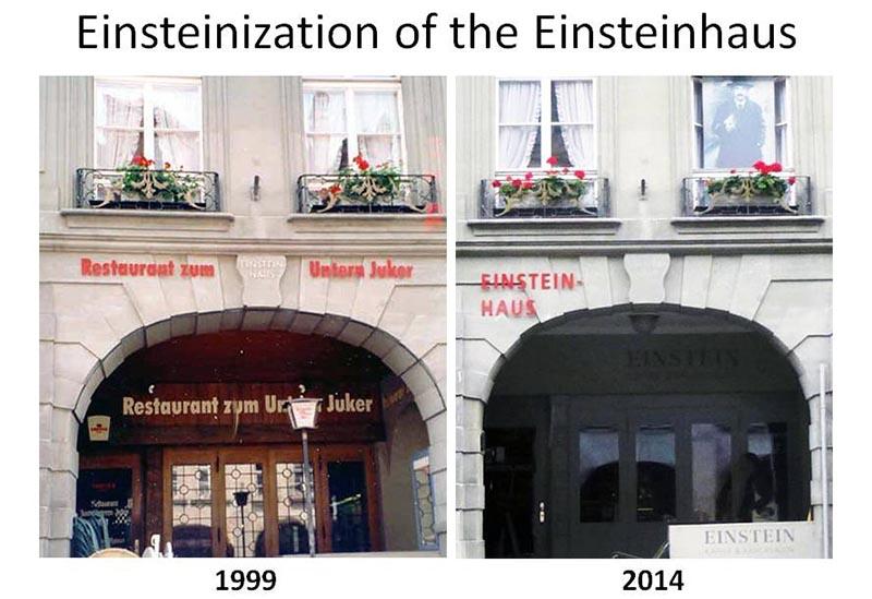 Einstein\'s Bern