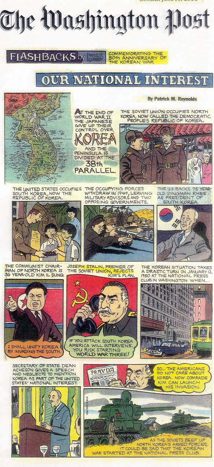 Tanks here is a cartoon describing the korean war publicscrutiny Choice Image