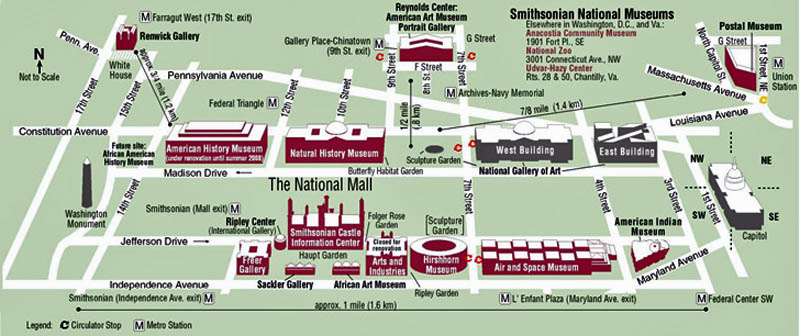 Map Of National Mall  My Blog